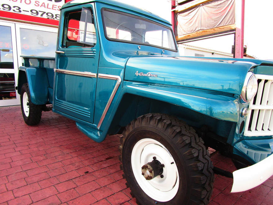 1960 Willys Jeep 4x4 Pickup