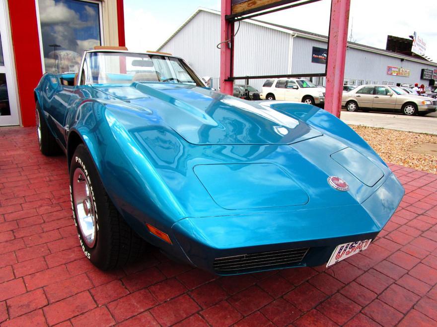 1973 Corvette Stingray Convertible