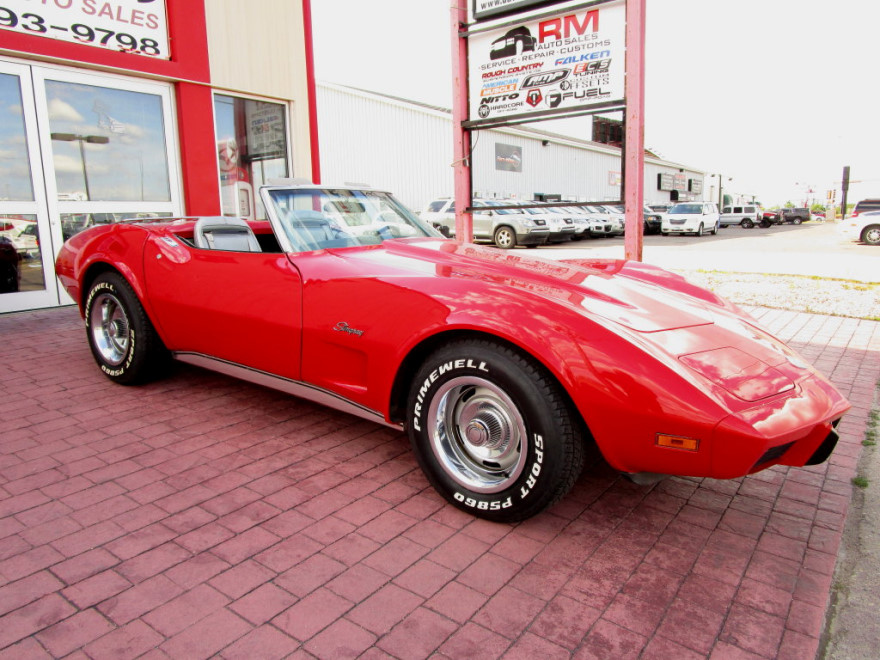 1975 Corvette Stingray Convertible