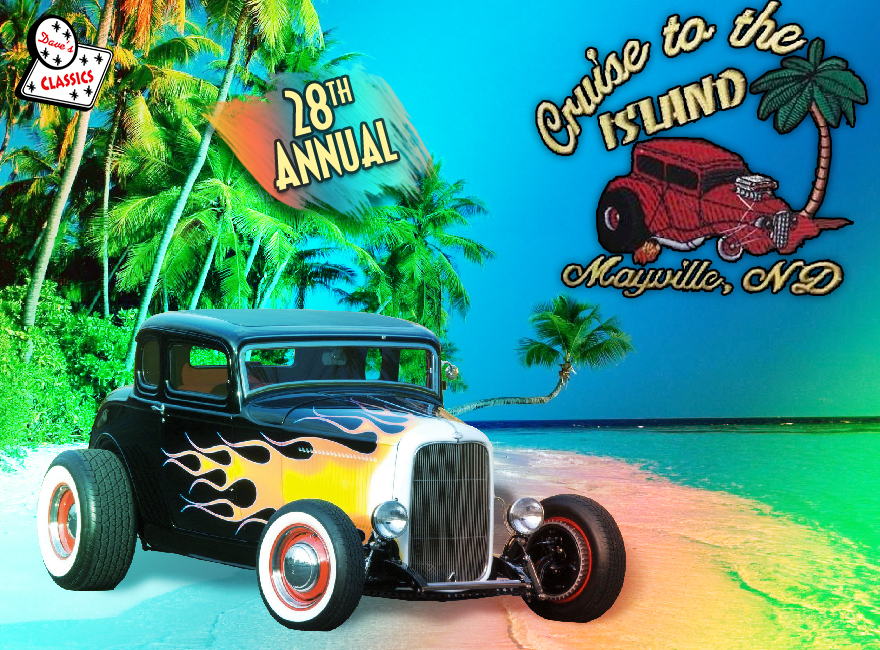 Cruise to the Island Car Show